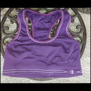 Champion Sports Bra in Purple size Small